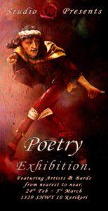 Poetry flyer